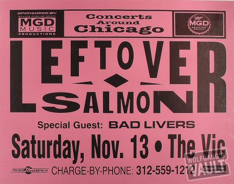 Leftover Salmon Poster