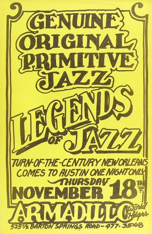 Legends of JazzPoster