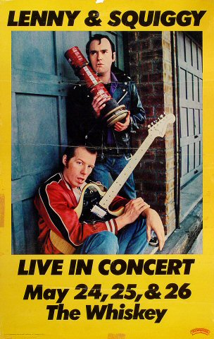 Lenny and Squiggy Poster
