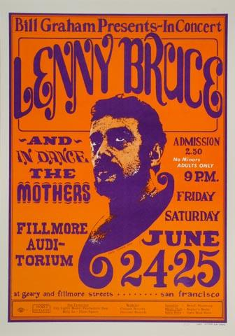 Lenny Bruce Postcard