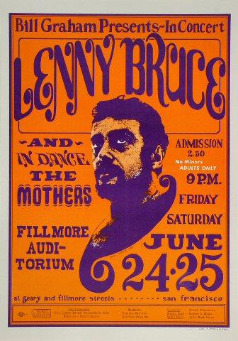 Lenny Bruce Poster