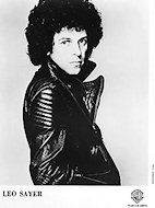 Leo Sayer Promo Print