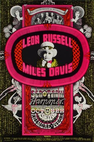 Leon Russell Handbill
