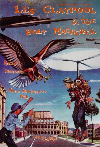 Les Claypool &amp; The Holy MackerelPoster