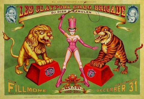 Les Claypool's Frog Brigade Poster