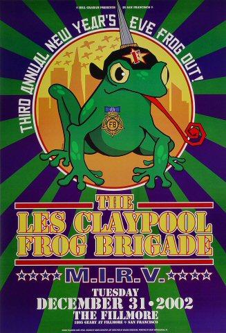 Les Claypool's Frog Brigade Poster