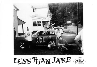 Less Than Jake Promo Print