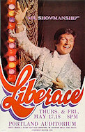 Liberace Poster