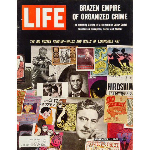 Life Magazine-the big poster hang-upMagazine