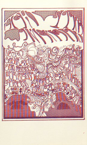 Light Sound Dimension Handbill