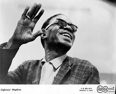 Lightnin' Hopkins Promo Print
