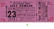 Lily Tomlin 1970s Ticket
