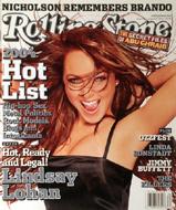 Lindsay Lohan Rolling Stone Magazine