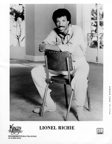 Lionel Richie Promo Print