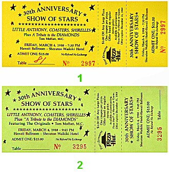 Little Anthony1980s Ticket