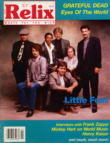 Little Feat Magazine