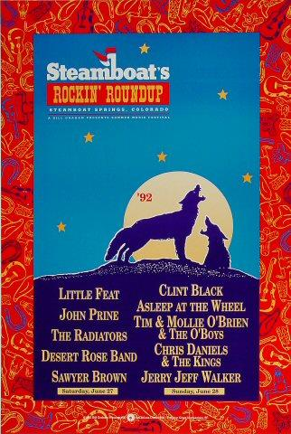 Desert Rose Band Poster