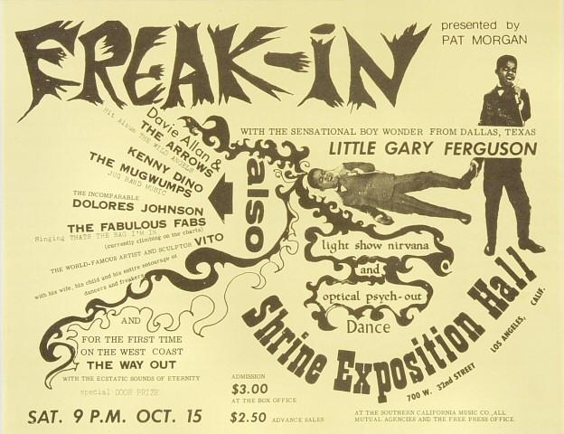 Little Gary FergusonHandbill
