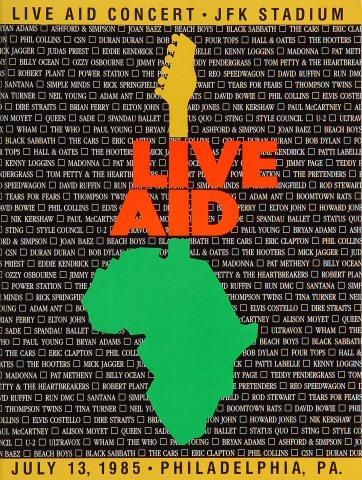 Live Aid Program
