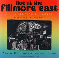 Live at the Fillmore East A Photographic Memoir Book