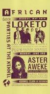 Loketo Handbill