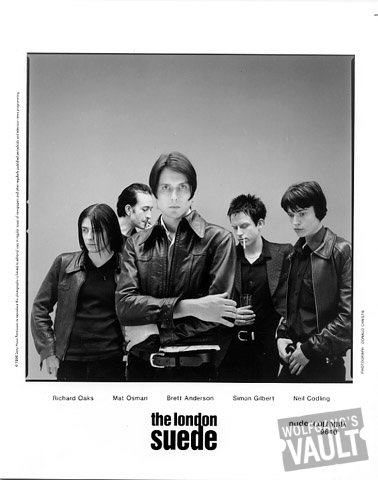London Suede Promo Print