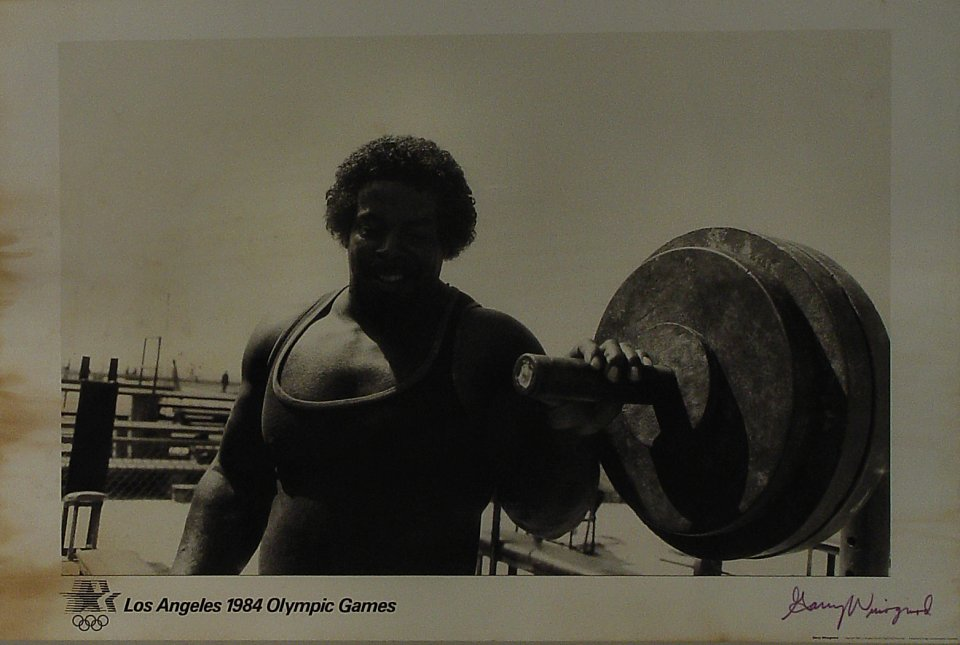 Los Angeles 1984 Olympic Games Poster