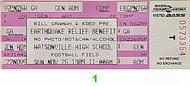 Narada Michael Walden 1980s Ticket