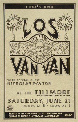 Los Van Van Poster