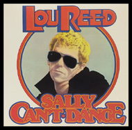 Lou Reed Framed Album Cover
