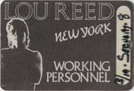 Lou Reed Laminate