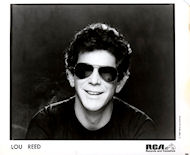 Lou Reed Promo Print