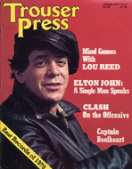 Elton John Trouser Press Magazine