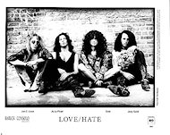 Love/Hate Promo Print