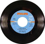"""Love Is Blue Vinyl 7"""" (Used)"""