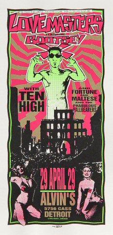 Lovemasters Handbill