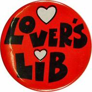 Lovers Lib Vintage Pin