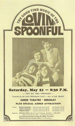 Lovin' Spoonful Handbill