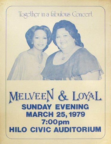 Loyal and Melveen Poster