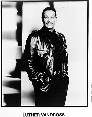 Luther Vandross Promo Print