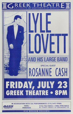 Lyle Lovett &amp; His Large Band Poster