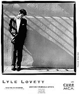Lyle Lovett Promo Print