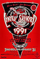 Lynyrd Skynyrd Handbill