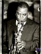 Maceo Parker Premium Vintage Print