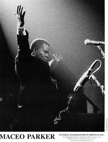 Maceo Parker Promo Print