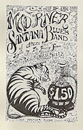 Santana Blues Band Handbill