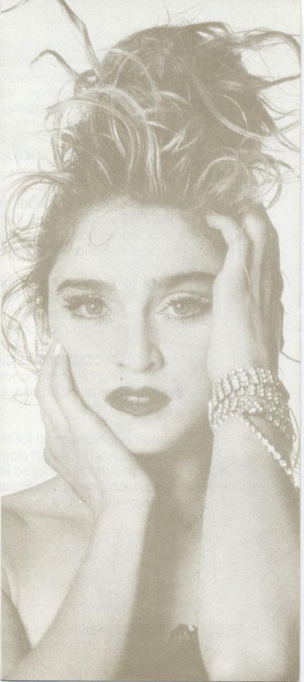 Madonna Handbill