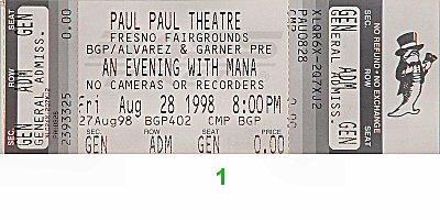 Mana1990s Ticket