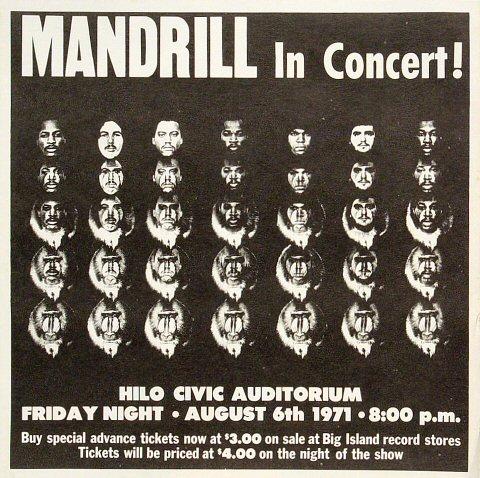 Mandrill Handbill