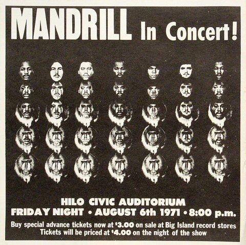 Mandrill Handbill